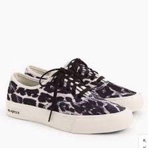 J Crew SeaVees Legend Velvet sneakers size11